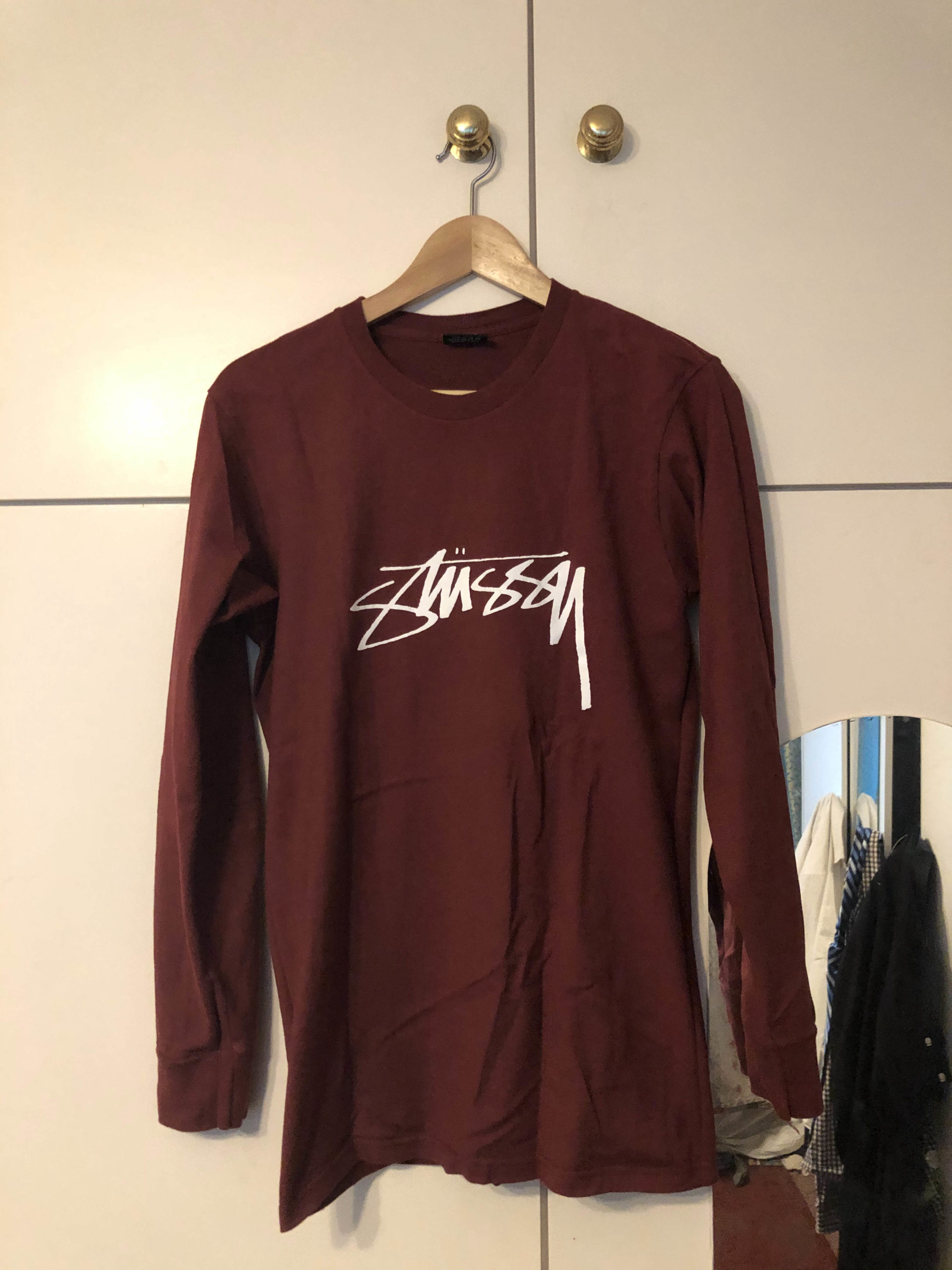 Stussy Maroon T-Shirt
