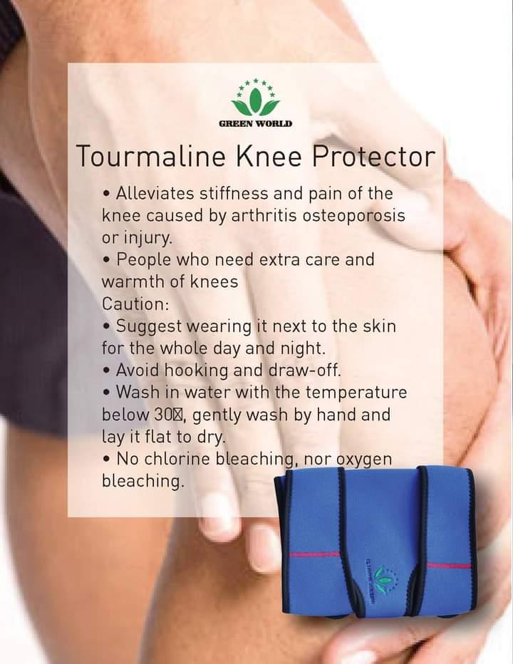 Tourmaline Self-Heating Knee Protector