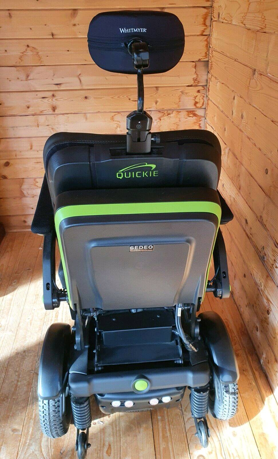 Private: Quickie Q700-UP F SEDEO ERGO Standing Wheelchair